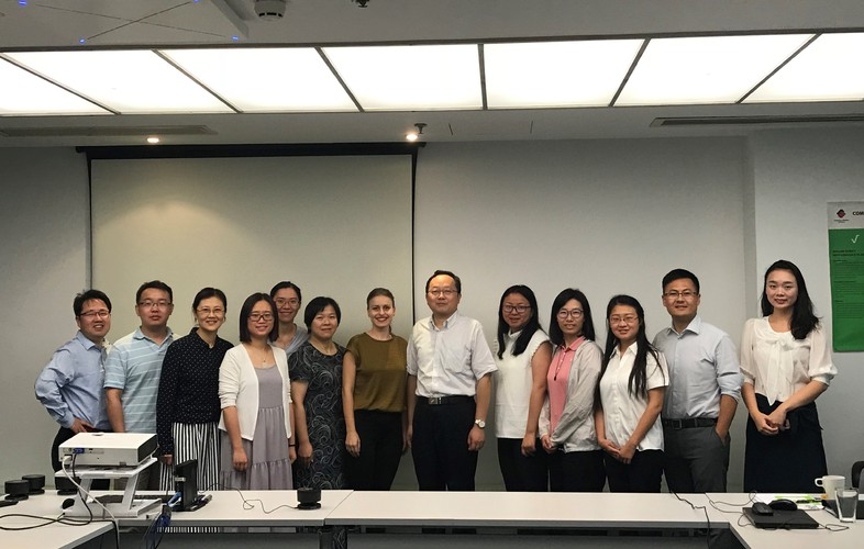 Meeting with Shanghai Municipal Quality and Technical Supervision Bureau on Food Contact Materials Standards and Practice